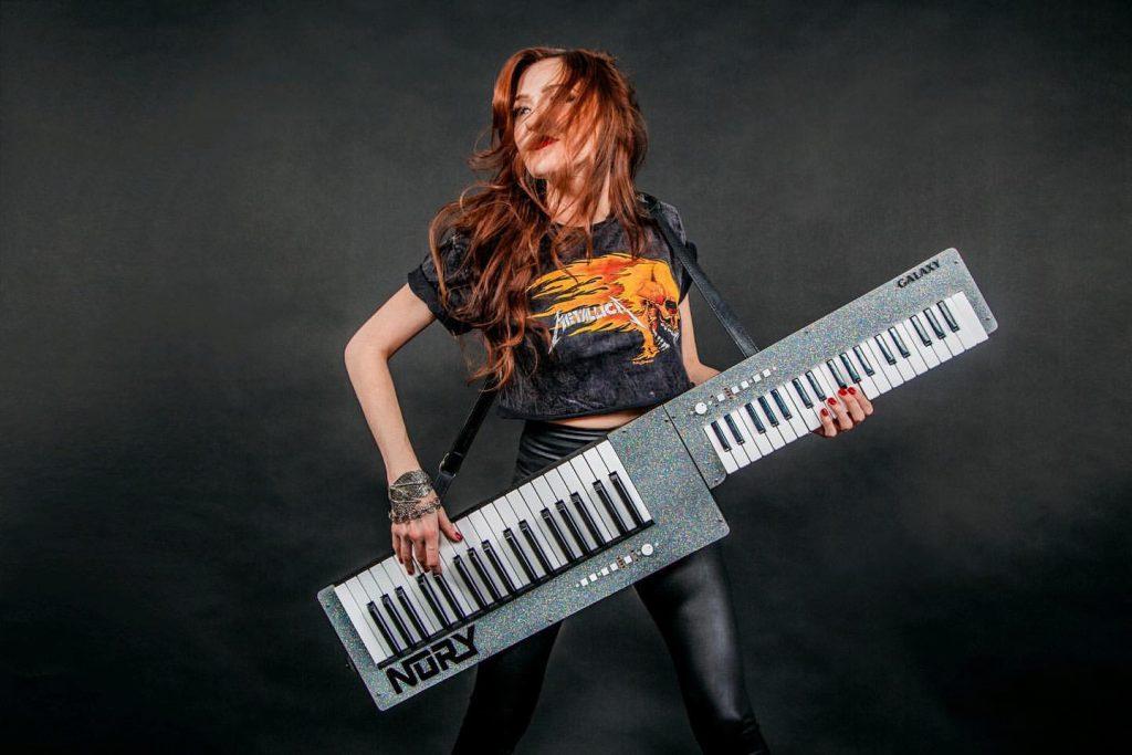 Nomi Abadi - Dual Sided Keytar